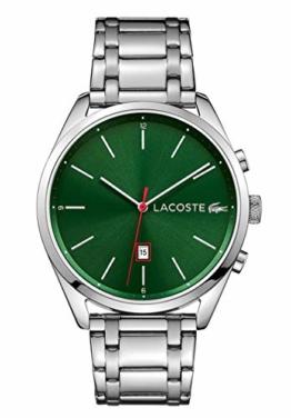 Lacoste Unisex Analog Quarz Uhr mit Edelstahl Armband 2010961 - 1
