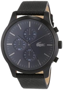 Lacoste Unisex-Armbanduhr Chronograph Quarz Uhr mit Leder Armband 2010947 - 1