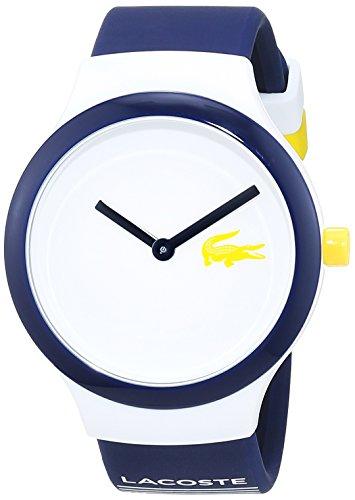 Lacoste Unisex Datum klassisch Quarz Uhr mit Silikon Armband 2020124 - 1