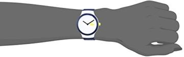Lacoste Unisex Datum klassisch Quarz Uhr mit Silikon Armband 2020124 - 2