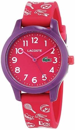 Lacoste Unisex Kinder Analog Quarz Uhr mit Silikon Armband 2030012 - 1