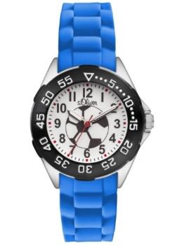 s.Oliver Jungen-Armbanduhr Analog Quarz Plastik SO-2833-PQ - 1
