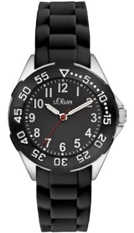 s.Oliver Jungen-Armbanduhr Analog Quarz Silikon SO-2526-PQ - 1