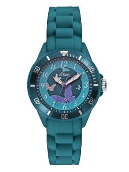 S.Oliver Mädchen Analog Quarz Armbanduhr SO-2597-PQ - 1