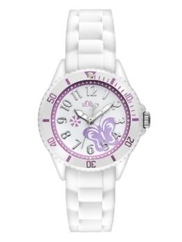 S.Oliver Mädchen Analog Quarz Armbanduhr SO-2755-PQ - 1