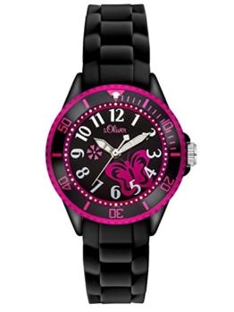 S.Oliver Mädchen Analog Quarz Armbanduhr SO-2993-PQ - 1