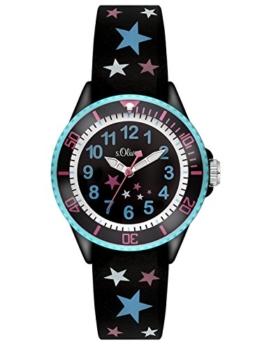 S.Oliver Mädchen Analog Quarz Armbanduhr SO-3178-PQ - 1