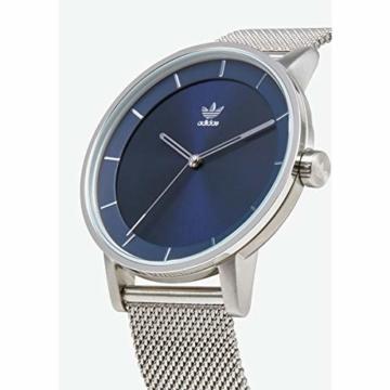 Adidas Herren Analog Quarz Smart Watch Armbanduhr mit Edelstahl Armband Z04-2928-00 - 2