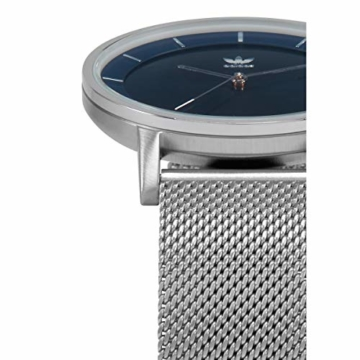 Adidas Herren Analog Quarz Smart Watch Armbanduhr mit Edelstahl Armband Z04-2928-00 - 3