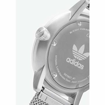 Adidas Herren Analog Quarz Smart Watch Armbanduhr mit Edelstahl Armband Z04-2928-00 - 4
