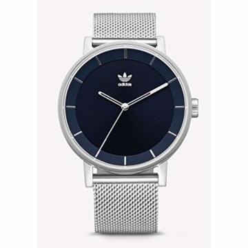 Adidas Herren Analog Quarz Smart Watch Armbanduhr mit Edelstahl Armband Z04-2928-00 - 1