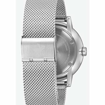 Adidas Herren Analog Quarz Smart Watch Armbanduhr mit Edelstahl Armband Z04-2928-00 - 5