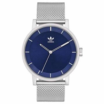 Adidas Herren Analog Quarz Smart Watch Armbanduhr mit Edelstahl Armband Z04-2928-00 - 6