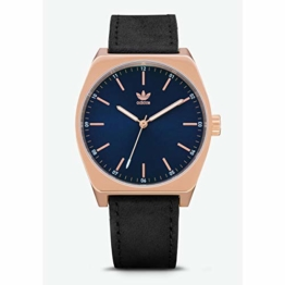 Adidas Herren Analog Quarz Smart Watch Armbanduhr mit Leder Armband Z05-2967-00 - 1