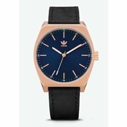 Adidas Herren Analog Quarz Smart Watch Armbanduhr mit Leder Armband Z05-2967-00 - 1