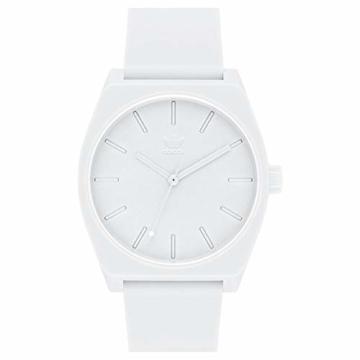 Adidas Herren Analog Quarz Smart Watch Armbanduhr mit Silikon Armband Z10-126-00 - 6