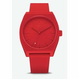 Adidas Herren Analog Quarz Smart Watch Armbanduhr mit Silikon Armband Z10-191-00 - 1