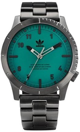 Adidas Herren Analog Quarz Uhr mit Edelstahl Armband Z03-2917-00 - 1