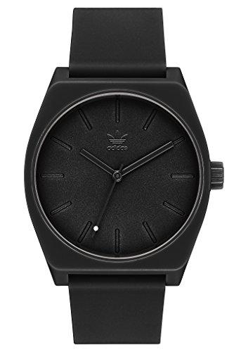 adidas Herrenuhren Process_Sp1.Silicone Strap, 20 Mm Breite (0,38 Mm) All Black - 1