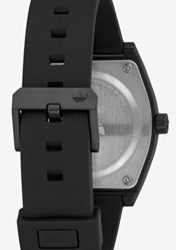 adidas Herrenuhren Process_Sp1.Silicone Strap, 20 Mm Breite (0,38 Mm) All Black - 6