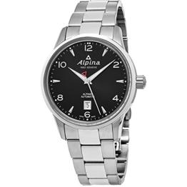 Alpina al525b4e6b al-525b4e6b – Armbanduhr, Edelstahl-Armband, Silber - 1
