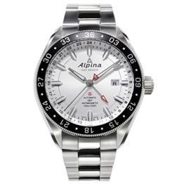 Alpina Alpiner 4 GMT Herren-Armbanduhr 44mm Automatik AL-550S5AQ6B - 1