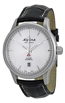 ALPINA ALPINER Automatic Herren-Armbanduhr 41.5MM Leder AUTOMATIK AL-525S4E6 - 1