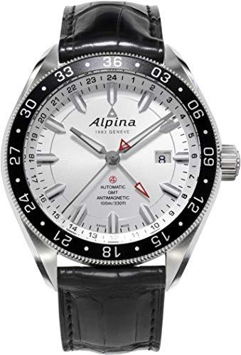 Alpina Alpiner GMT 4 Herren-Armbanduhr 44mm Automatik AL-550S5AQ6 - 1
