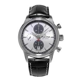 ALPINA ALPINER Herren-Armbanduhr 41.5MM Armband Leder AUTOMATIK AL-750SG4E6 - 1
