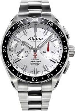 Alpina Alpiner Herren-Armbanduhr 44mm Schweizer Automatik Analog AL-860S5AQ6B - 1