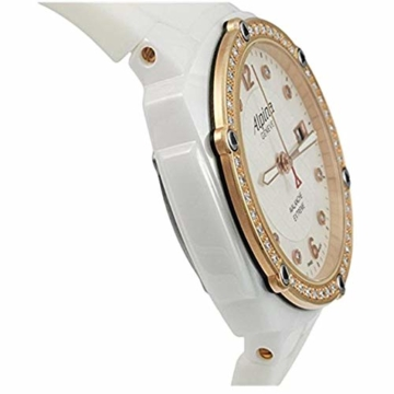 Alpina Avalanche Damen-Armbanduhr 45mm Weiß Schweizer Quarz AL-240MPWD3AEDC4 - 3