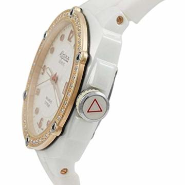 Alpina Avalanche Damen-Armbanduhr 45mm Weiß Schweizer Quarz AL-240MPWD3AEDC4 - 4