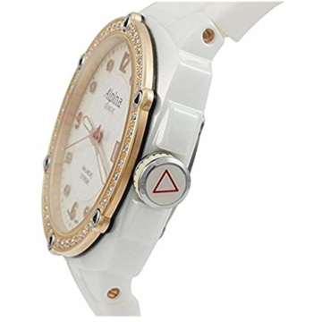 Alpina Avalanche Damen-Armbanduhr 45mm Weiß Schweizer Quarz AL-240MPWD3AEDC4 - 5