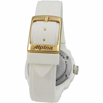 Alpina Avalanche Damen-Armbanduhr 45mm Weiß Schweizer Quarz AL-240MPWD3AEDC4 - 7