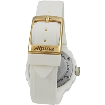 Alpina Avalanche Damen-Armbanduhr 45mm Weiß Schweizer Quarz AL-240MPWD3AEDC4 - 9