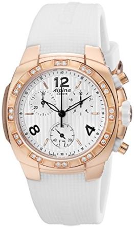 ALPINA Avalanche Damen DIAMANTEN 36MM Chronograph SAPHIRGLAS Uhr AL350LWWW2AD4 - 1