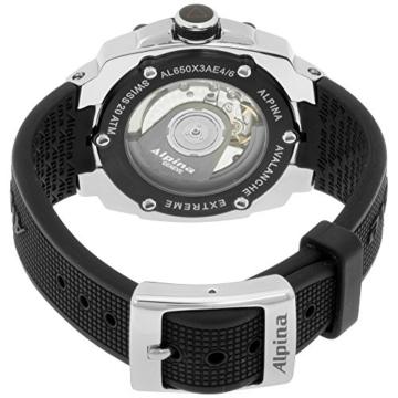 Alpina Avalanche Extreme Silber Zifferblatt Silikon Strap Herren-Armbanduhr al650lsss3ae6 - 2