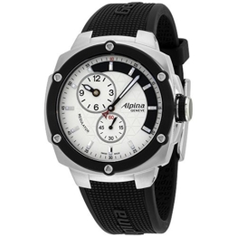 Alpina Avalanche Extreme Silber Zifferblatt Silikon Strap Herren-Armbanduhr al650lsss3ae6 - 1