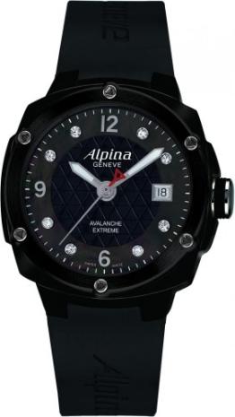 Alpina Geneve Avalance Extreme Ceramic AL-240MPBD3FBAEC6 Sportliche Damenuhr mit echten Diamanten - 1