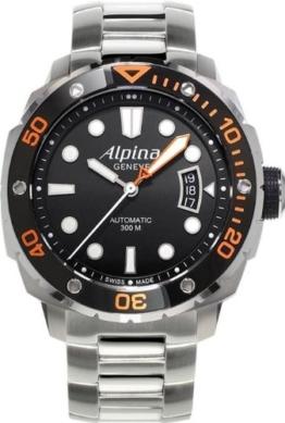 Alpina Geneve Extreme Diver AL-525LBO4V26B Herren Automatikuhr Alpina Rotor - 1