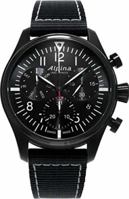 Alpina Geneve Startimer Pilot Quartz Chronograph AL-371BB4FBS6 Herrenchronograph - 1