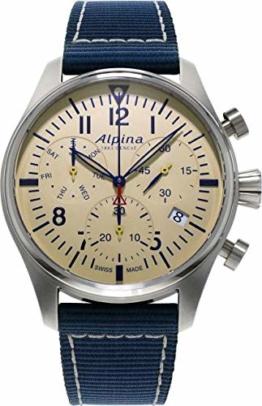 Alpina Geneve Startimer Pilot Quartz Chronograph AL-371BG4S6 Herrenchronograph - 1