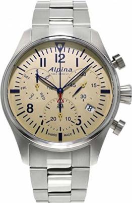 Alpina Geneve Startimer Pilot Quartz Chronograph AL-371BG4S6B Herrenchronograph - 1