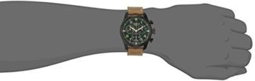 Alpina Herren al-372gr4fbs6Startimer Pilot Chronograph Big Date Analog Display Swiss Quarz Braun Armbanduhr - 2
