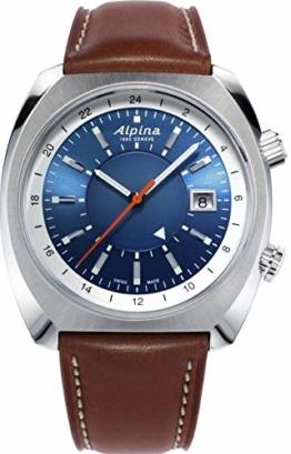 Alpina Schweizer Automatikuhr Startimer Pilot Heritage AL-555LNS4H6 - 1