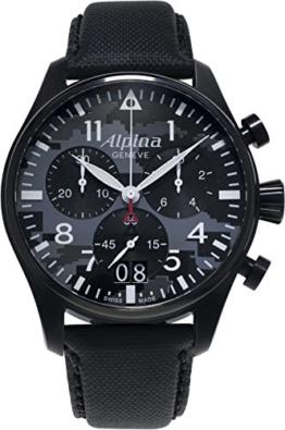 Alpina Schweizer Chronograph Startimer Pilot AL-372BMLY4FBS6 - 1