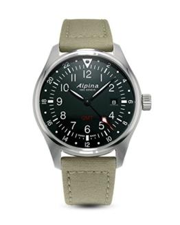 Alpina Schweizer Uhr Startimer Pilot GMT AL-247B4S6 - 1