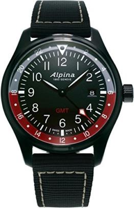 Alpina Schweizer Uhr Startimer Pilot GMT AL-247BR4FBS6 - 1