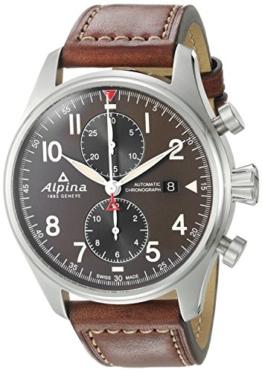 ALPINA STARTIMER Pilot Herren-Armbanduhr 44MM AUTOMATIK AL-725GR4S6 - 1