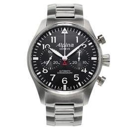 ALPINA STARTIMER Pilot Herren-Armbanduhr 44MM AUTOMATIK AL-860B4S6B - 1